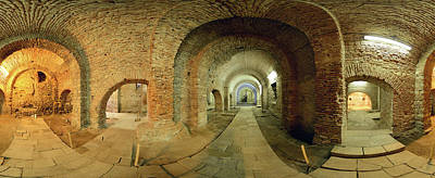 Romania Photograph - 360 Degree Interior View by Panoramic Images