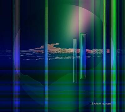 Monolith Digital Art - 364 - Abstract Landscape 1 by Irmgard Schoendorf Welch