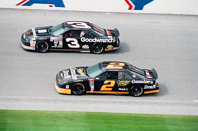 Wallace Photograph - Dale Earnhardt by Retro Images Archive