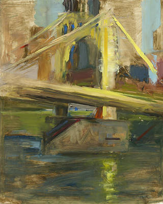 Three Rivers Painting - Rcnpaintings.com by Chris N Rohrbach