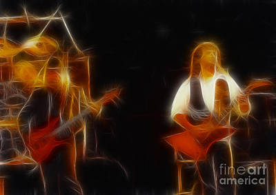 38 Special-94-larry N Jeff-gb20a-fractal Print by Gary Gingrich Galleries