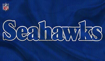 Seattle Seahawks Print by Joe Hamilton
