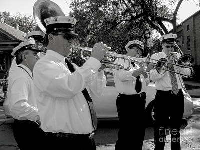 Designer Photograph - 3rd Line Brass Band Second Line by Renee Barnes