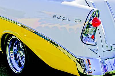 1956 Chevrolet Belair Nomad Taillight Emblem Print by Jill Reger
