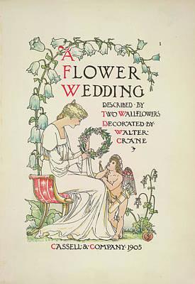 A Flower Wedding Print by British Library