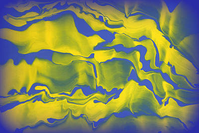 Abstract 106 Print by J D Owen
