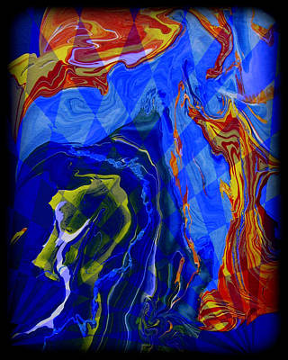 Abstract Digital Painting - Abstract 30 by J D Owen