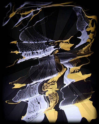 Digital Fine Art Painting - Abstract 31 by J D Owen