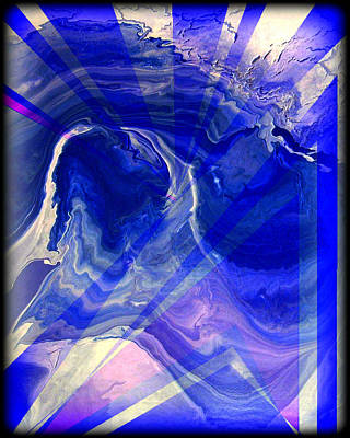 Abstract 36 Print by J D Owen