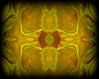 Psychedelic Painting - Abstract 45 by J D Owen
