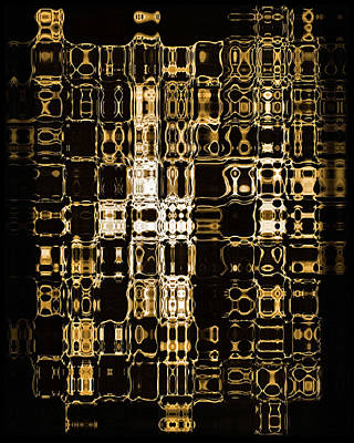 Abstract 96 Print by J D Owen