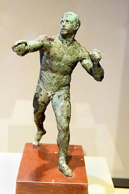 Artifacts Photograph - Antikythera Shipwreck Artifact by Louise Murray