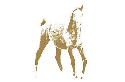 Arabian Horse Print by Toppart Sweden
