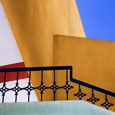 Architectural Detail Print by Carol Leigh