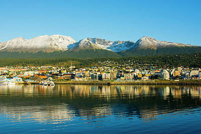 Argentina Tierra Del Fuego Ushuaia Print by Inger Hogstrom