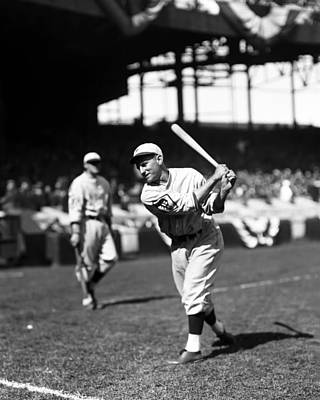 Philadelphia Phillies Stadium Photograph - Arthur C. Pinky Whitney by Retro Images Archive
