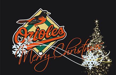 Oriole Photograph - Baltimore Orioles by Joe Hamilton