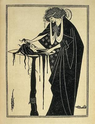 Beardsley, Aubrey Vincent 1872-1898 Print by Everett