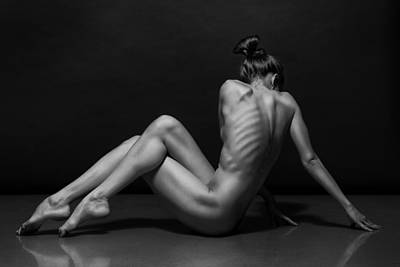 Bodyscape Print by Anton Belovodchenko