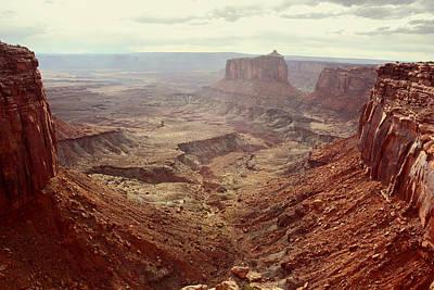 Canyonlands National Park In Utah Print by Brett Pfister