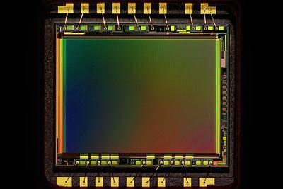 Hardware Photograph - Ccd Camera Sensor by Antonio Romero