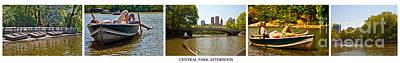 Central Park Afternoon Print by Madeline Ellis