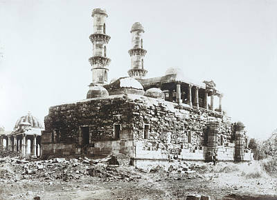 Religious Art Photograph - Champaner by British Library
