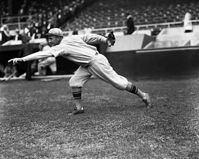 Philadelphia Phillies Stadium Photograph - Clarence E. Mitchell by Retro Images Archive