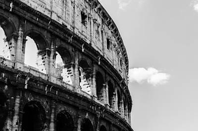 Colosseum - Rome Italy Print by Andrea Mazzocchetti