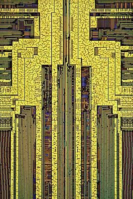 Hardware Photograph - Computer Ram Module by Antonio Romero