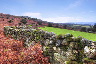Dartmoor Print by Joana Kruse