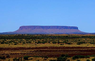 Wall Hanging Photograph - Desert Monolith by Girish J
