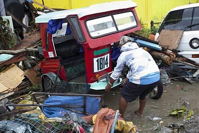 Categories Photograph - Destruction After Super Typhoon Haiyan by Jim Edds