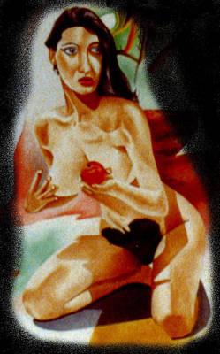 Genio Digital Art - Detail From Fantasy And Plagiarism by Genio GgXpress