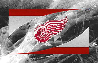 Hockey Photograph - Detroit Red Wings by Joe Hamilton