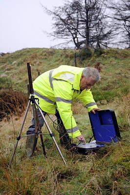 Monitoring Photograph - Environmental Radiation Monitoring by Public Health England