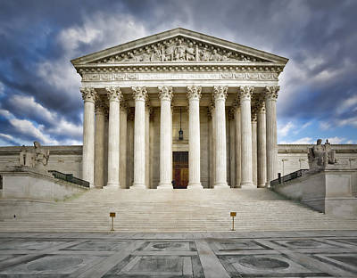 Capitol Building Photograph - Equal Justice Under Law by Susan Candelario