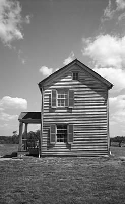 Sun Porch Photograph - Farmhouse by Frank Romeo