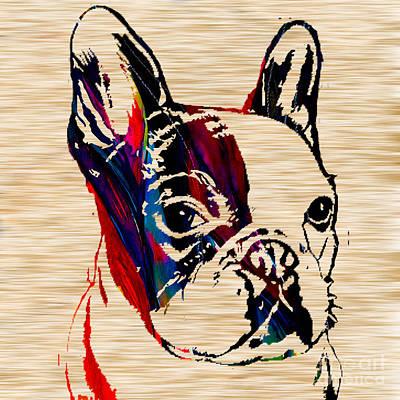 French Bulldog Print by Marvin Blaine