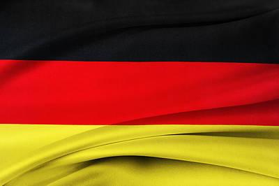 German Flag Print by Les Cunliffe