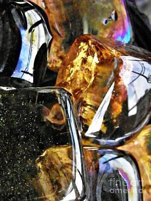 Glass Abstract 115 Original by Sarah Loft