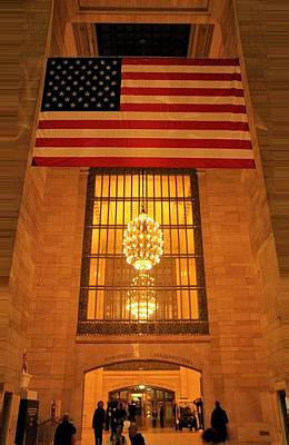 Tourism Digital Art - Grand Central Station by Dan Sproul