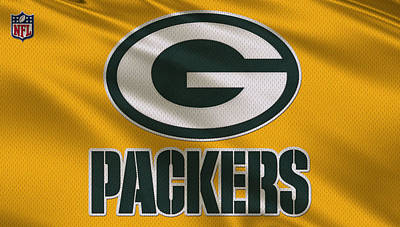 Uniforms Photograph - Green Bay Packers Uniform by Joe Hamilton