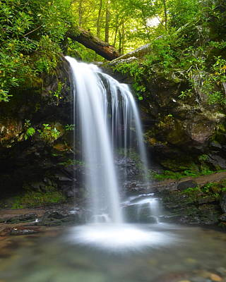 Grotto Falls Print by Frozen in Time Fine Art Photography
