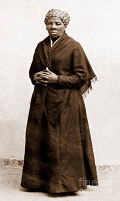 Abolition Photograph - Harriet Tubman, American Abolitionist by Photo Researchers