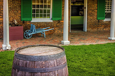 Baltimore Photograph - Historic Fort Mchenry, Birthplace by Jerry Ginsberg