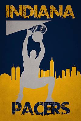 Indiana Pacers Print by Joe Hamilton