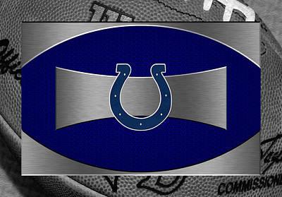 Football Photograph - Indianapolis Colts by Joe Hamilton