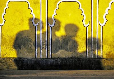 Light And Dark Photograph - 4 Is Company by Prakash Ghai