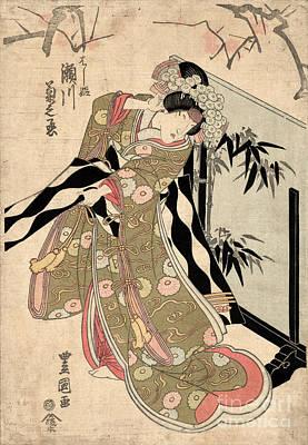 Japan: Tale Of Genji Print by Granger